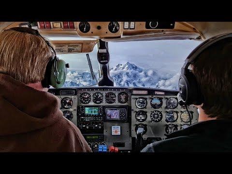 "Alaska:  Flight Tour around Denali, ""The Great One"""