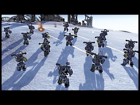 Men of War Assault Squad 2  Imperium of Man vs Blood Pact Warhammer 40k