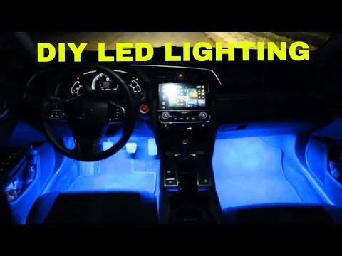 Custom Ambient Lighting   2017 Honda Civic
