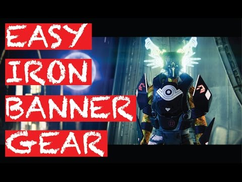 destiny - how to get easy iron banner armor (age of triumph) - youtube