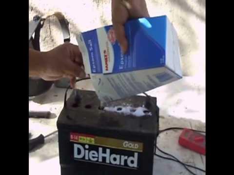 Como reparar una bateria con sal y agua facil y rapido - Como reparar una vitroceramica ...