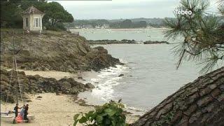 Finistère : La plage de Bot Conan à Fouesnant