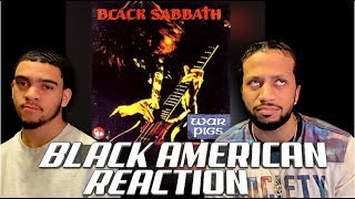 BLACK AMERICAN FIRST TIME HEARING - Black Sabbath - War Pigs (UNBELIEVEABLE!!!)
