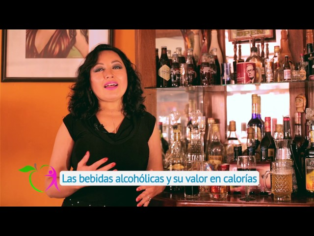 BEBIDAS ALCOHÓLICAS Y SU VALOR EN CALORÍAS