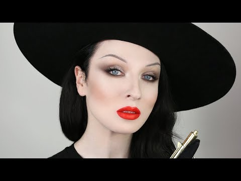 VILLAIN SMOKEY EYES & RED LIPS TUTORIAL | JOHN MACLEAN