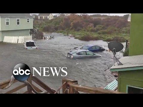 North, South Carolina Slammed By Hurricane Matthew