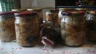 Рыбные консервы в масле в домашних условиях. Вкусно и просто, в автоклаве.