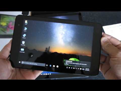 Dell Venue 10 Pro 5055 Unboxing Review Testing