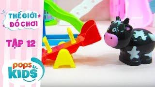 Thế Giới Đồ Chơi - Tập 12 - Chúng Mình Cùng Đi Công Viên Nhé | Baby Dolls & Toys Review