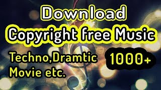 How to download Copyright Free Music without voice tag