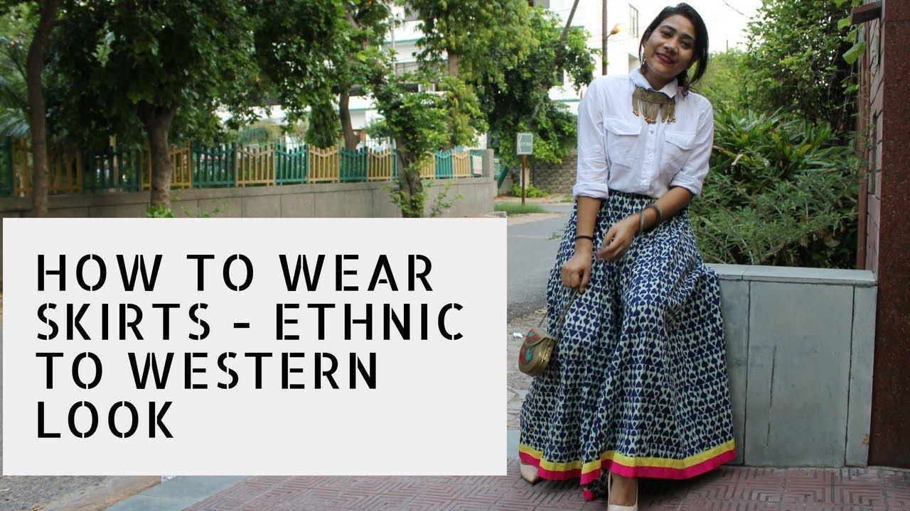 Western style skirt
