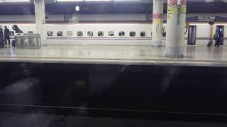 東北新幹線やまびこ52号盛岡行き 上野駅オーバーラン