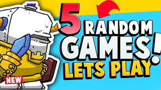 Playing 5 COMPLETELY Random Games - 2 WON'T EVEN START!!!