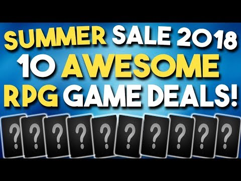STEAM SUMMER SALE 2018 - 10 AWESOME RPG Game DEALS!