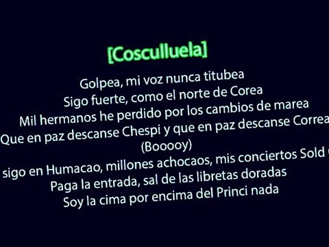 LETRA - Alerta Roja  Daddy Yankee,Nicky Jam,J Balvin,Arcangel,Cosculluela