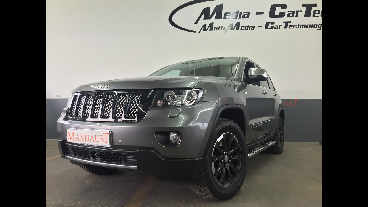 jeep grand cherokee 3 0 crd wk2 and maxhaust soundbooster. Black Bedroom Furniture Sets. Home Design Ideas