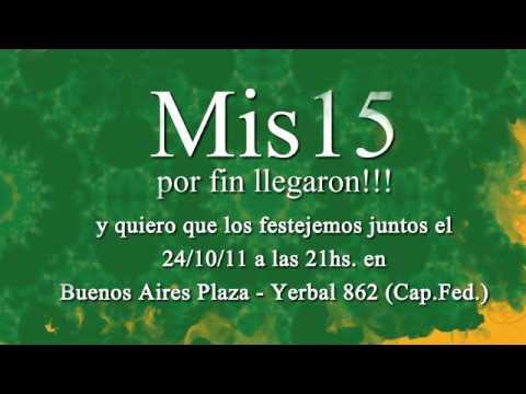 Invitación Fiesta 15 Años Super Original