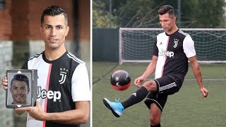 Get acquainted this is a double of Cristiano Ronaldo from Iraq