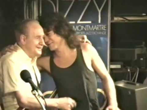 Les Paul with Eddie Van Halen