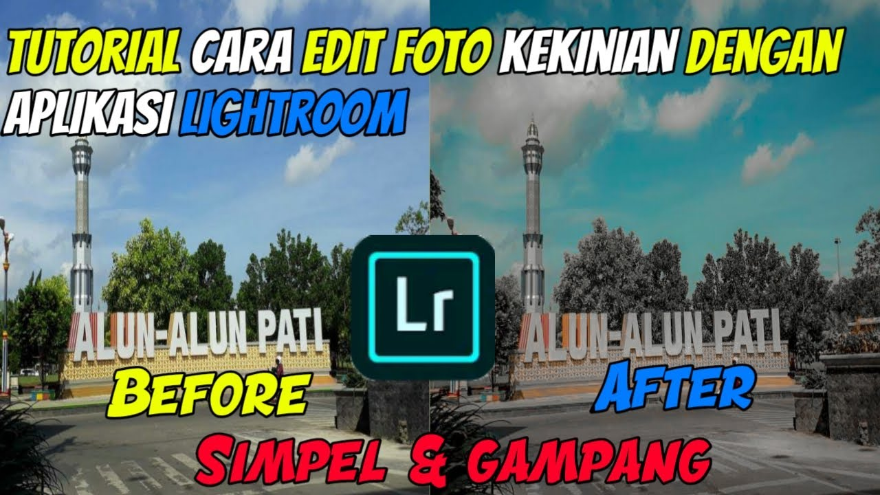 Tutorial Cara Edit Foto Dark & Aqua Dengan Aplikasi ...
