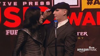 Twiggy Ramirez & Marilyn Manson @ Alternative Press Music Awards