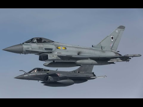 British & French Air Forces Unite For Exercise Griffin Strike