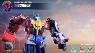 Transformers Earth Wars: Checking out the new combiner OPTIMUS MAXIMUS