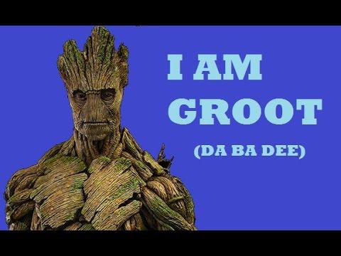 I AM GROOT da ba dee Guardians of the GalaxyBlue Remix⭐🌟🌠💫