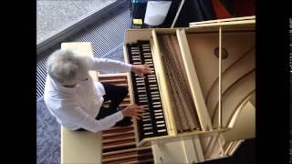 J.S. Bach - Wir Christenleut, BWV 612, Rosalinde Haas, Blanchet harpsichord