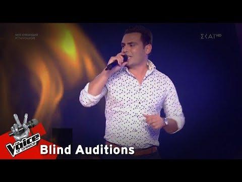 Νάσος Λαβράνος – Mulino a Vento | 4o Blind Audition | The Voice of Greece