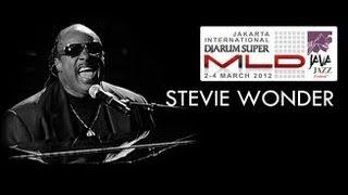 """Stevie Wonder """"Superstition"""" Live at Java Jazz Festival 2012"""