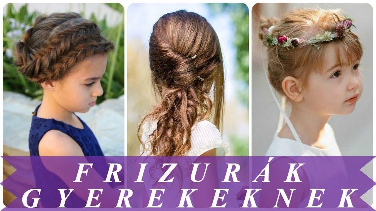 kislányoknak képek Alkalmi frizurák kislányoknak   YouTube kislányoknak képek