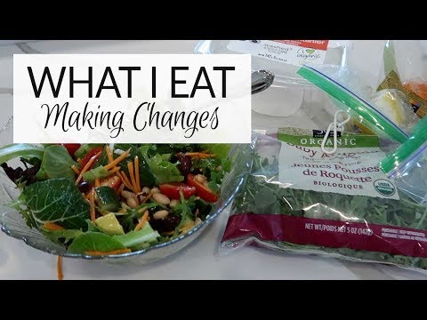 What I Eat In A Day | Making Changes