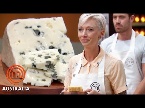 Identifying a Variety of Cheeses! | MasterChef Australia | MasterChef World