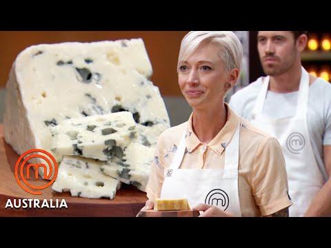Identifying a Variety of Cheeses! | MasterChef Australia | MasterChef World