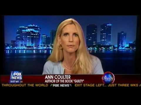 GATES CASE: Ann Coulter Explains The Myth Of Racial Profiling 7/31/09