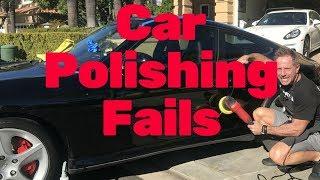 Car Polishing Fails: Car polishing fails and tricks you won't hear elsewhere.