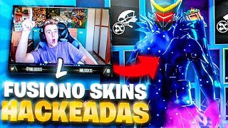 FUSION SKINS HACKED SO IN FORTNITE and this happens...
