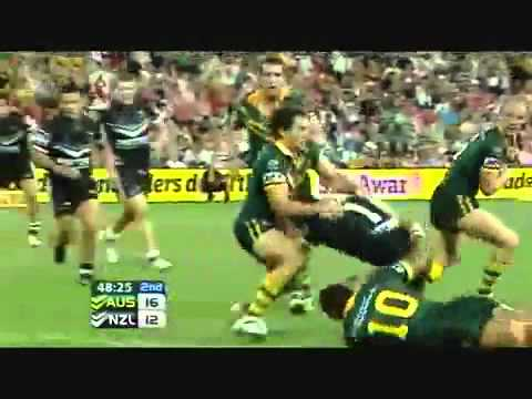 Rugby League 2008 World Cup Final Highlights- Australia VS New Zealand