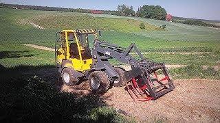 Wozimy Kiszonkę z Kukurydzy dla Bydła ! Vlog#117 Dalsze Testy Ładowarki Eurotrac W12 :D ! HD