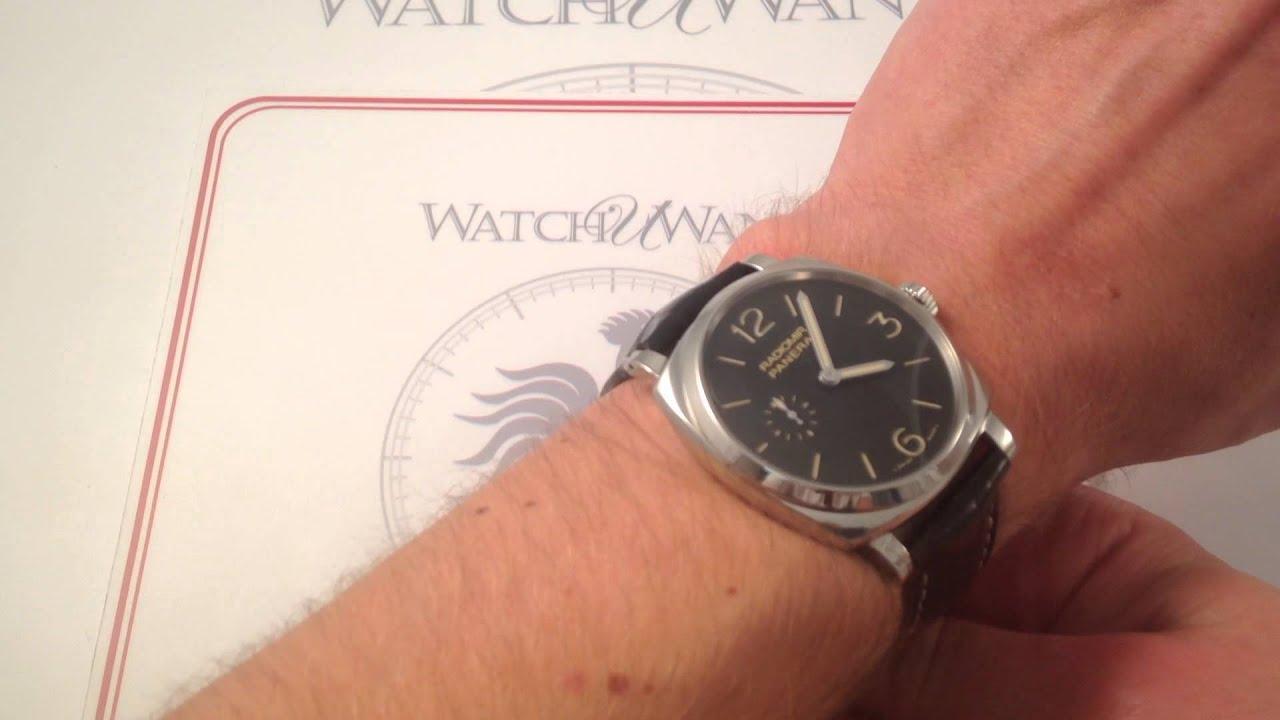 Panerai Radiomir 1940 Pam 512 Luxury Watch Review Youtube