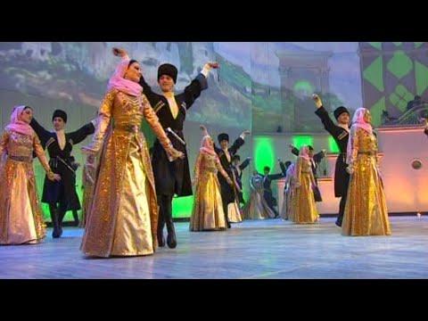 The Chechen Vainakh Dance Ensemble Performed In Moscow. Dikalu Muzakaev .