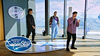 "Gruppe 7: Kosta, Marcio, Anil mit ""Do you really want to hurt me"" von Culture Club 