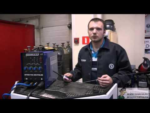 Сварка для начинающих (аргонно-дуговая сварка, настройка аппарата и подачи газа)