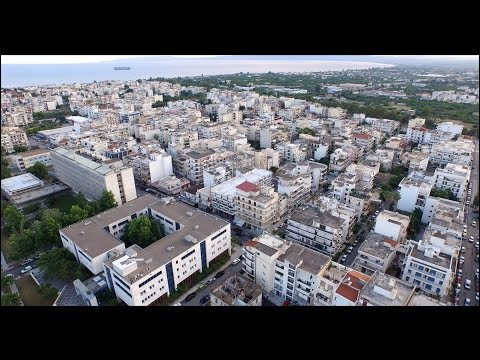 DJI PHANTOM 3 PRO (FIRST FLIGHT) GREECE - LOCATION - KALAMATA CITY.