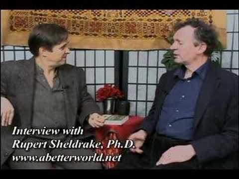 Interview With Rupert Sheldrake, Ph.D.