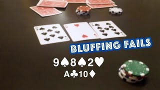 Bluffing in Poker Homegame - Every Hand Shown