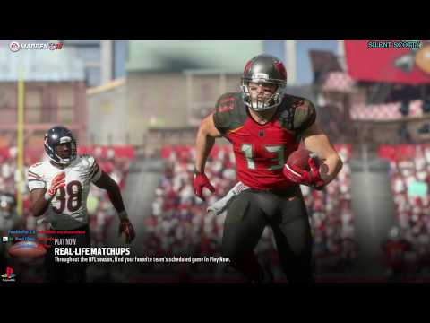 MADDEN 18🏈NFL FOOTBALL🏈| SILENT SCOTTY'S GAMING WORLD🌎JOIN US FOR THE GAME👍