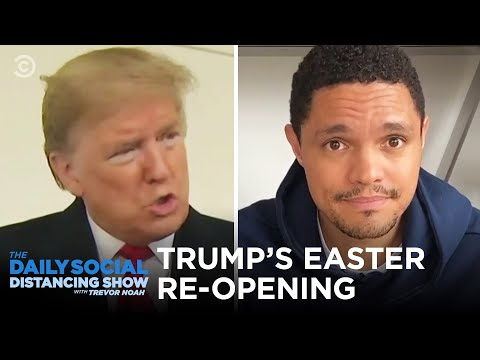 "Trump's Big Plan To ""Pack Churches"" On Easter 