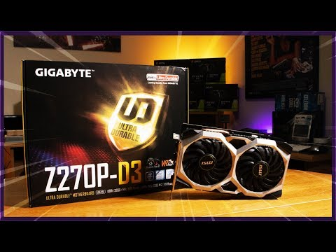 Z270P-D3 Bios Update And 1660Ti Compatibility | How To Update The Gigabyte Z270P-D3 Bios | HiveOS